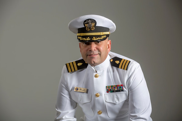 Holy Name Medical Center Mulkay Cardiology  team member Reynaldo Pella.<br /> <br /> U.S. Navy<br /> Station: Naval Hospital Fleet Marine Support<br /> Position: Commander, Nurse Corps<br /> Deployments: Operation Desert Shield/Desert Storm 1991<br />                               Operation Noble Eagle/Enduring Freedom 2007<br /> <br /> Photo by Jeff Rhode / Holy Name Medical Center