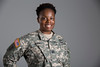 Holy Name Medical Center Nurse Amaka Auer<br /> <br /> U.S. Army 2005-2013<br /> Station: Fort Riley, Kansas, Fort Benning, Georgia, West Point, NY, Iraq, Afghanistan<br /> Position: Logistician<br /> <br /> <br /> Photo by Jeff Rhode / Holy Name Medical Center