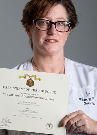 Holy Name Medical Center nurse Wendy Loszynski<br /> <br /> U.S. Air Force 1995-1999<br /> Station: Andrews Air Force Base<br /> Position:Captain Select Aeromedical Evacuation