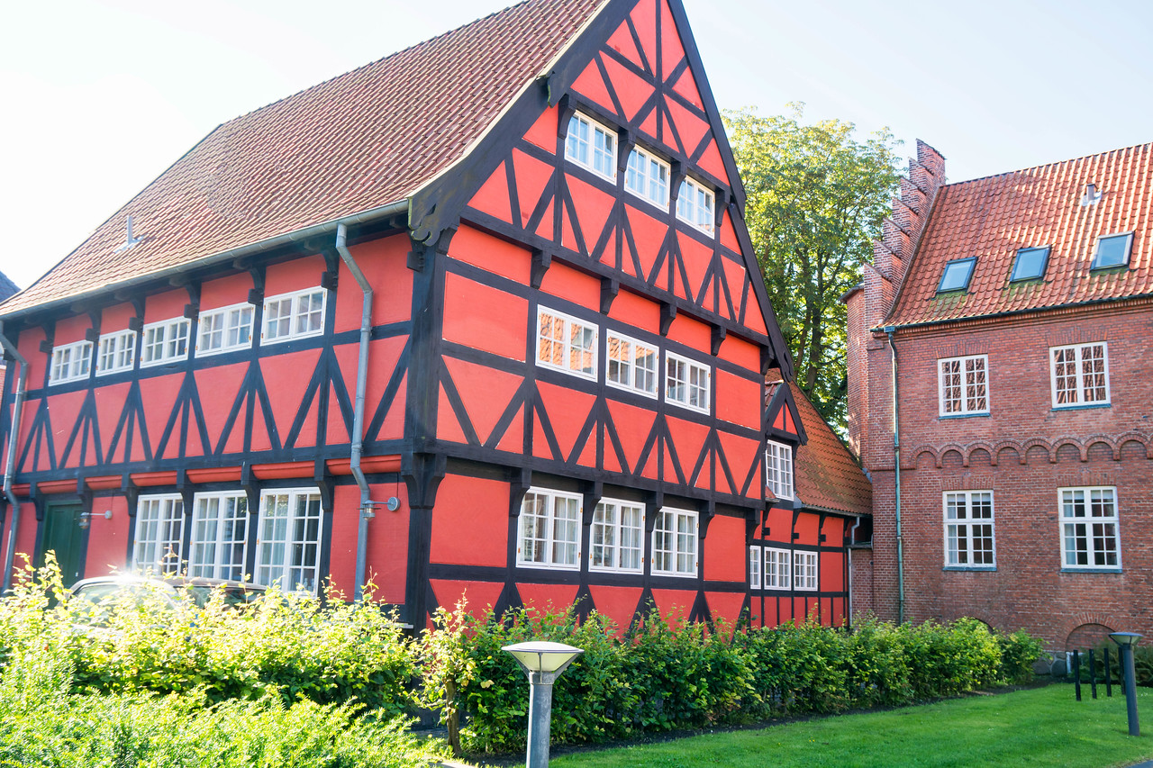 Well preserved 16th century half-timber house