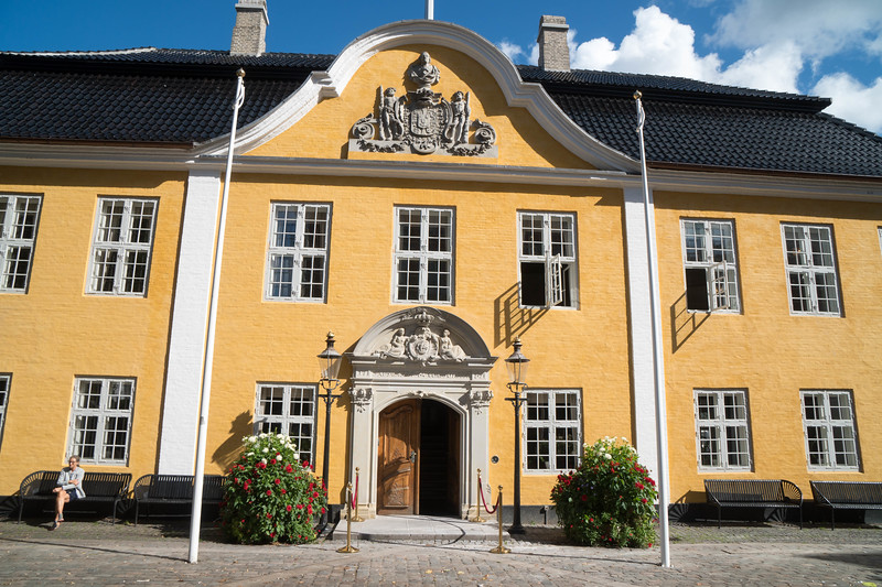 City Hall - Also where the queen stays when she visits Alborg