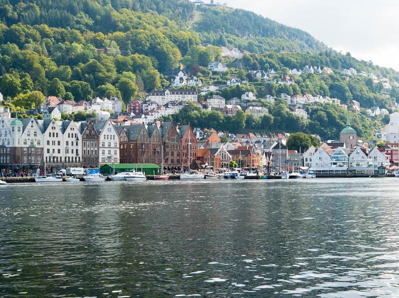 Bergen's harbor