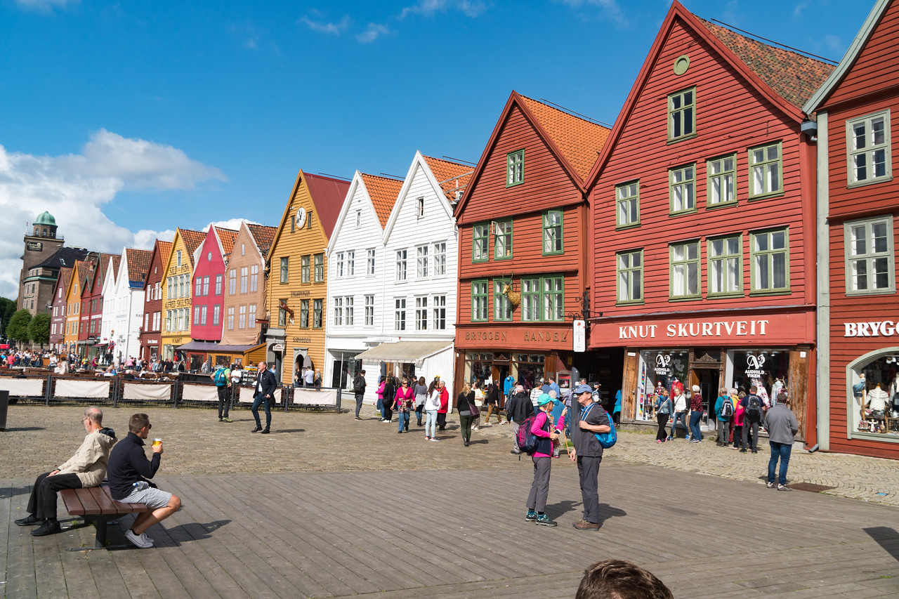 The Bryggen historic district - A UNESCO  World Heritage site