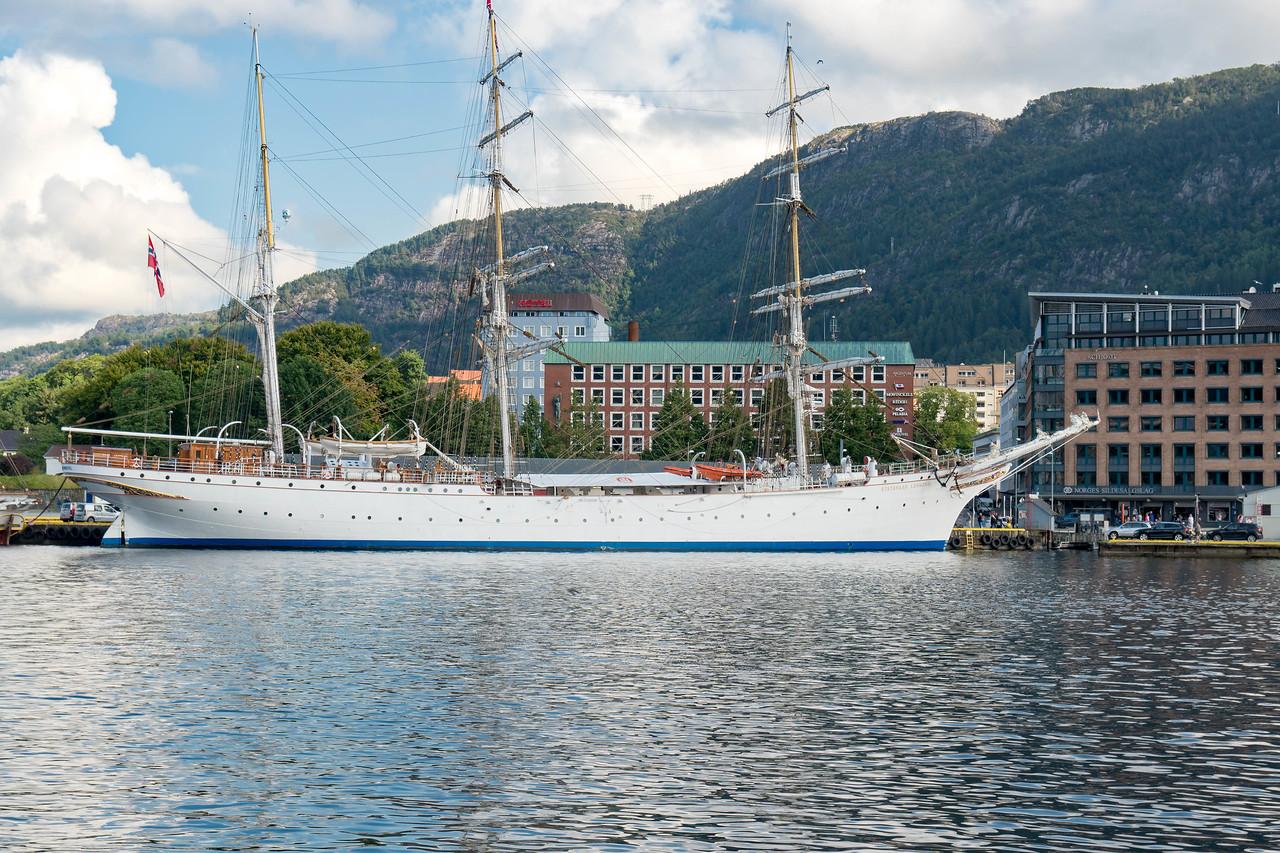 Norway's naval training vessel