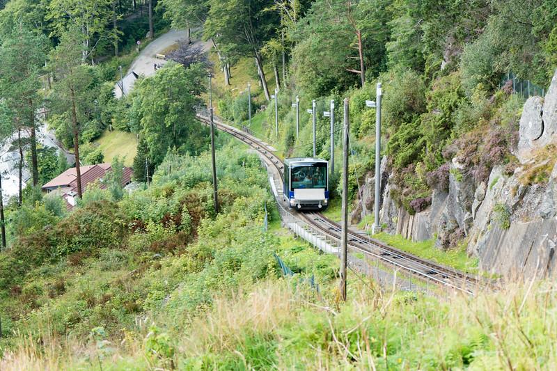 The Floibanen, Bergen's funicular