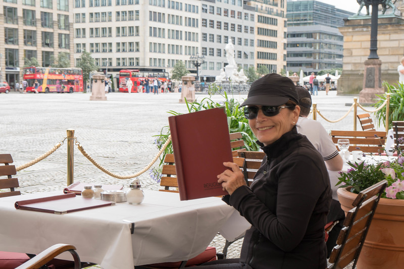 Gendarmenmarkt Square in the background