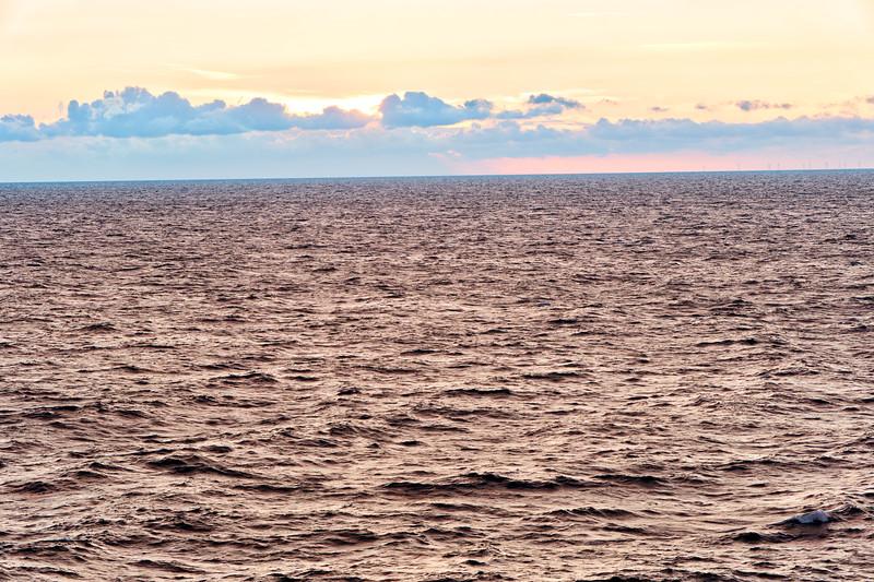 Sunrise on the Baltic Sea