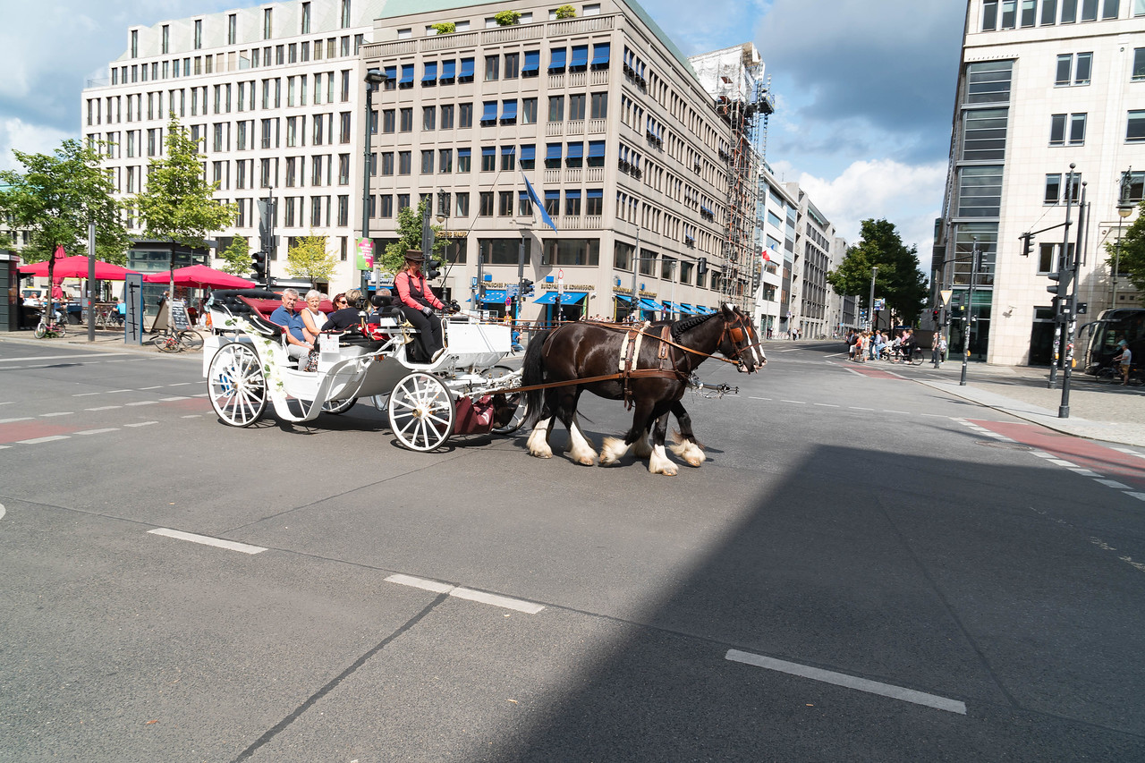 Berlin is a great city to do a carriage ride