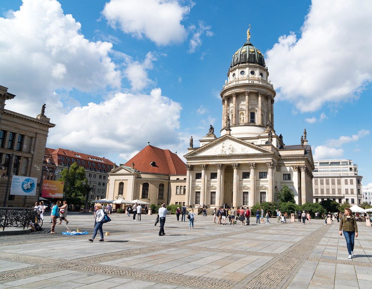 Gendarmenmarkt Square - French Cathedral