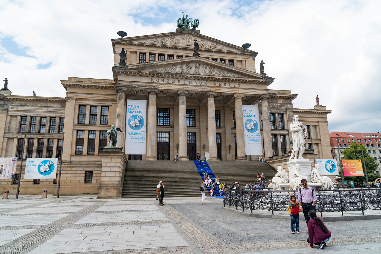 Gendarmenmarkt Square - Concert Theater