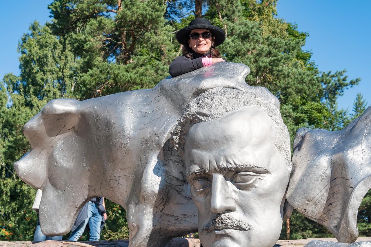 Composer Jean Sibelius (1865 - 1957)