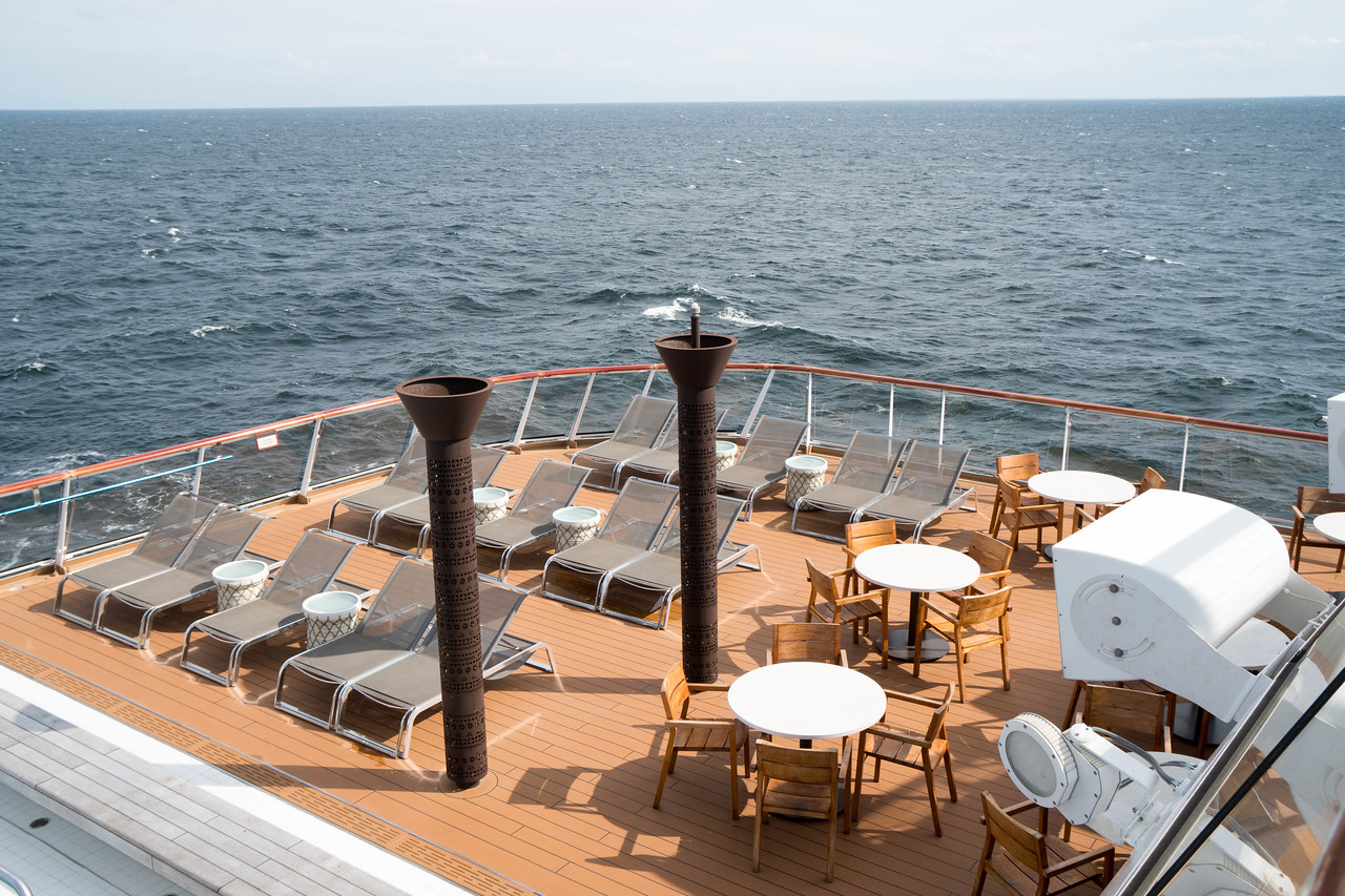 Deck 7 - Next to the pool