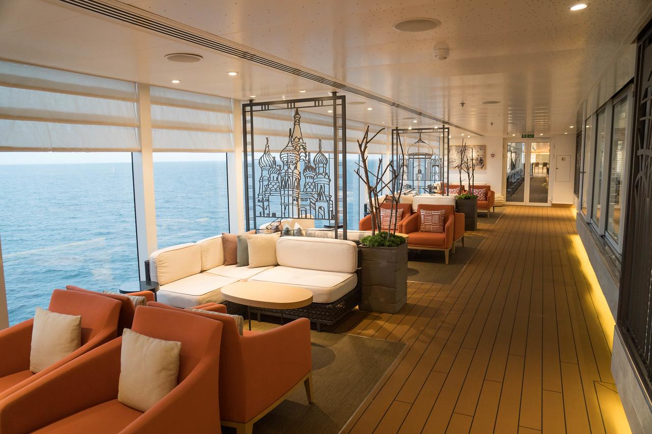 Deck 7 - Next to Wintergarden Tea Room