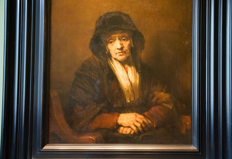 Hermitage Museum - A Rembrandt