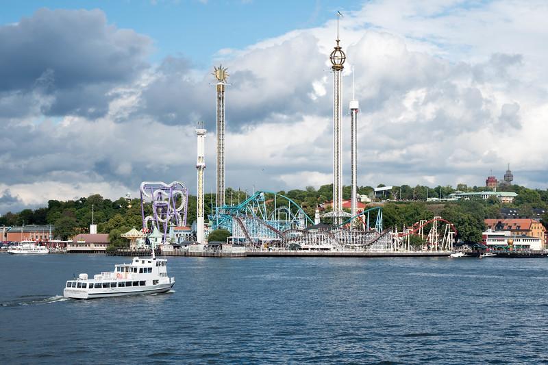 Stockholm's Amusement Park