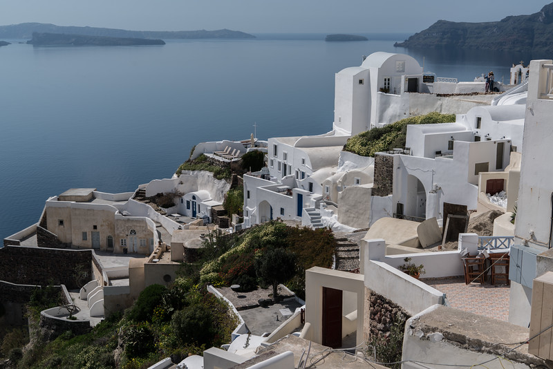 Thira on the Greek island of Santorini