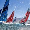 Leg 3, Cape Town to Melbourne, Start. Photo by Pedro Martinez/Volvo Ocean Race. 10 December, 2017.