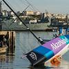 Akzonobel pull down test, Lisbon. Volvo Ocean Race.