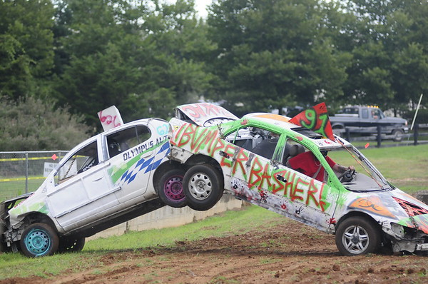 "2017 WARREN CO FAIR ""DEMO DERBY "" 8-7-17"