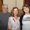 Greg Hein, PatriciaMcQuade and Kay Coyte.