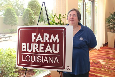 On October 20, 2017, Louisiana Farm Bureau Women's Leadership Committee District IX Director and East Baton Rouge Parish Chair Joy Womack attended the Louisiana Farm Bureau's Women's Leadership Conference Fall Conference in Baton Rouge, Louisiana.