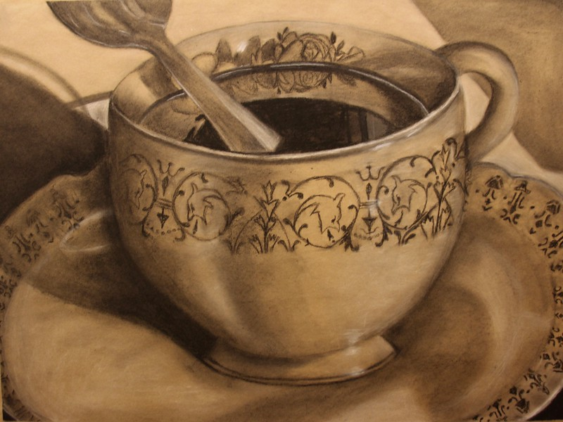 """Tea Cup"" by Joanna Cromartie '17"