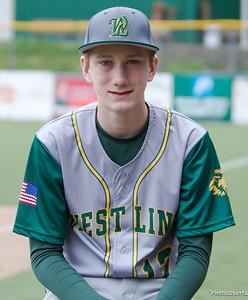 2017 West Linn 14U Federal Baseball Roster