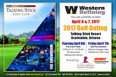 2017 Western Refining Pre Party & Golf Event