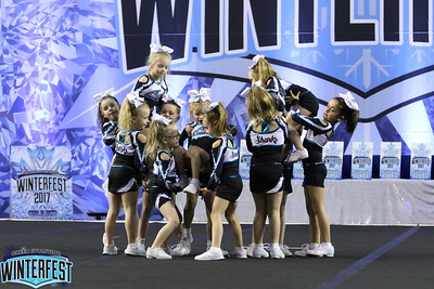 Cheer Sport Gummy Sharks Tiny 1