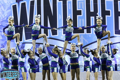 CheerStrike Royals Monarchs Mini 1