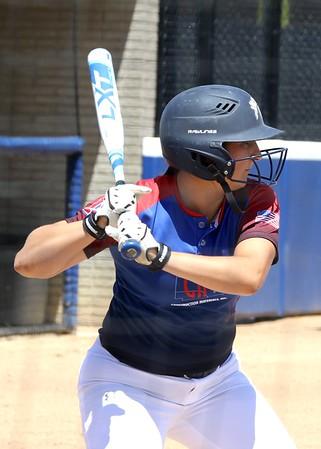 Game 1 Ironside vs. Construction Materials Women's Softball  League   6/18/17