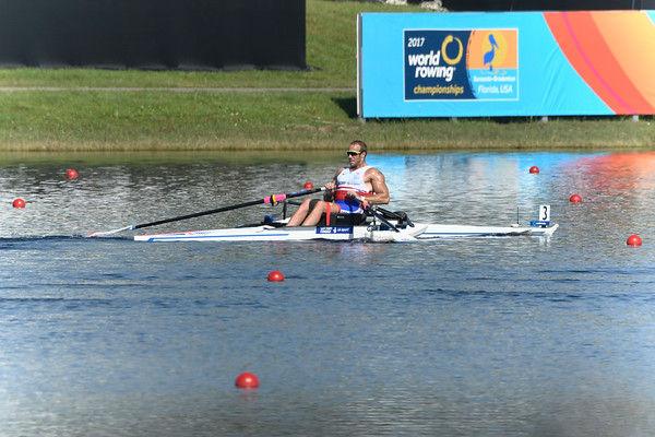 Para Rowing - Men's Single Scull