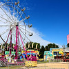 The carnival at the annual Hometown Days in Yorkvillle waits for guests under bright blue skies on Saturday, Sept. 2. This year marked the 25th anniversary of the city's celebration, lasting from Sept. 1-3.