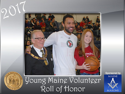 2017 Young Maine Volunteer Roll of Honor