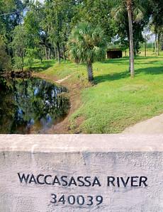 Waccasassa River bridge on Highway 19, Florida