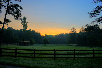 Sunrise Wildwood Farm High Point, NC September, 2013