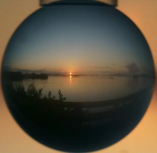 Sunrise in the round Cedar Key