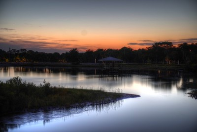 Calm after sunset