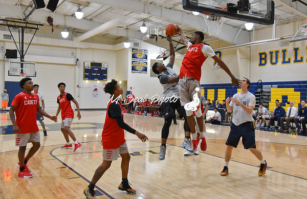 St. John's (DC) vs. Bullis (MD) boys basketball scrimmage