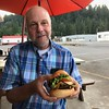 Giant good burger in Oakridge OR. We stayed 1 week to hike, mtn bike