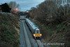 22023 passes Old Cabra Road with the 1640 Grand Canal Dock - Newbridge. Tues 24.01.17