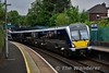 The 1540 Lisburn - Bangor calls at Botanic with set 4001. Sat 27.05.17