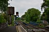 The starting signals at the Belfast end of Ballymena Station. CE270 & CE272, these are controlled from Coleraine. Sat 27.05.17