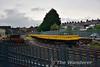 NI Railways Spoil wagons at Ballymena. Sat 27.05.17