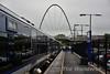 The very distinctive footbridge at Ballymoney. Sat 27.05.17
