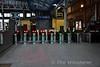 The gateline at Pearse on Platform 2. Sun 08.10.17