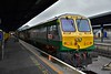 223 waits to depart from Heuston with the 1900 to Cork. Sun 08.10.17