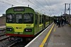 8127 + 8105 + 8107 at Howth after arriving with the 1300 from Bray. After a 21 minute turnaround it will form the 1428 service to Bray. Sun 08.10.17