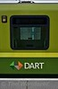 "DART logo with the Iarnrod Eireann ""flag"". Sun 08.10.17"