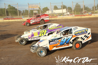July 9, 2017 - Utica Rome - 358 Modifieds - Jeremy McGaffin